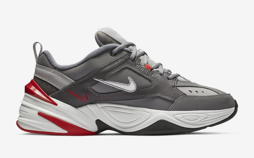 grande vente 3b91c a3740 Nike M2K Tekno Gris/Blanche-Natural Heather-Rouge BV2519-001 ...