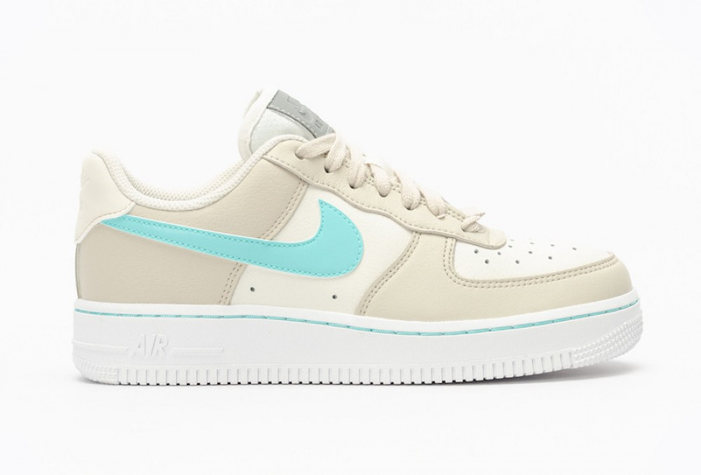 nike air force 1 low femme bleu