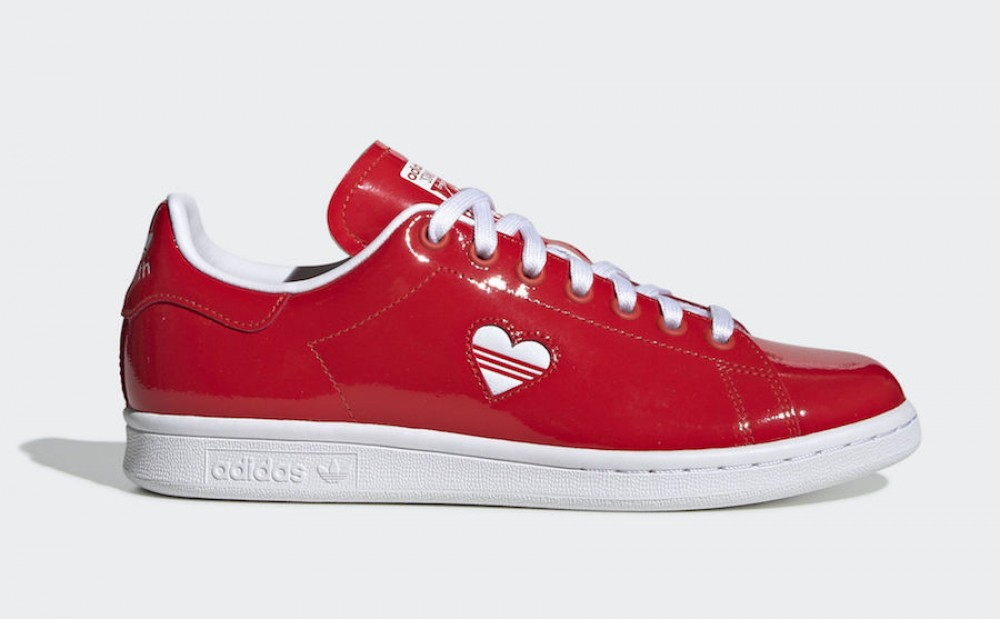 adidas Stan Smith Valentine's Day Rouge G28136 - hightheone.com