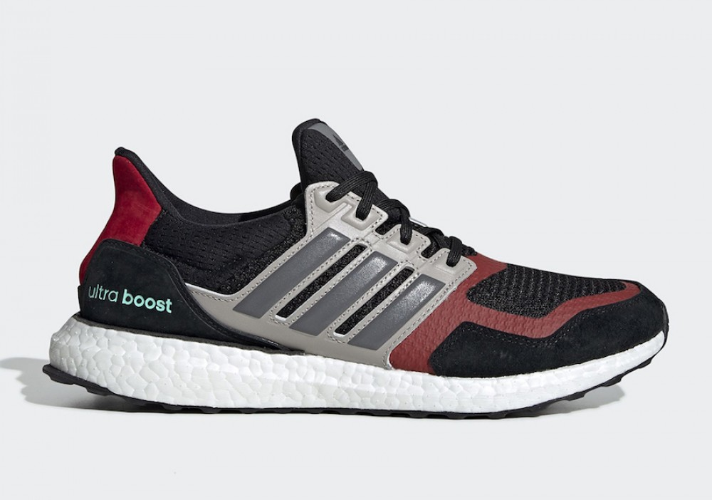 Running   Homme adidas Pure Boost Noir Gris Rouge