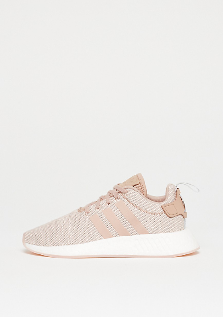 the best attitude 6d0b8 1cc59 Femme Adidas NMD_R2 Chaussures AQ0197 Rose - hightheone.com
