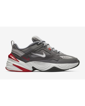 Nike M2K Tekno Gris/Blanche-Natural Heather-Rouge BV2519-001