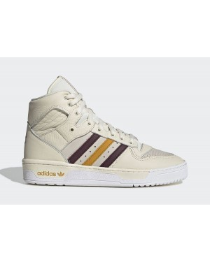 Eric Emanuel x adidas Rivalry Hi Blanche/Rouge-Rose-Or G25836