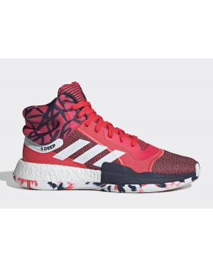 "adidas Marquee Boost ""John Wall"" Rouge/Blanche-Bleu G27737"