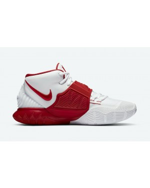 """Kyrie 6 """"Rouge"""" - Blanche/Blanche-Rouge - Nike - CZ4938-100"""