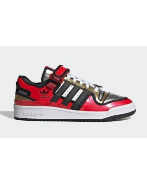 """The Simpsons x Adidas Forum Low """"Duff Beer"""" Rouge H05801"""