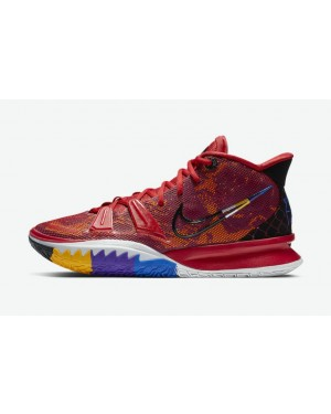 """Nike Kyrie 7 """"Icons of Sport"""" Rouge DC0589-600"""