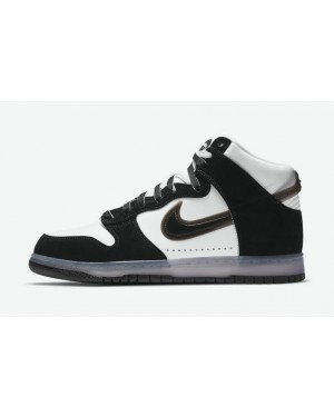 Slam Jam x Nike Dunk High Blanche/Clear-Noir DA1639-101