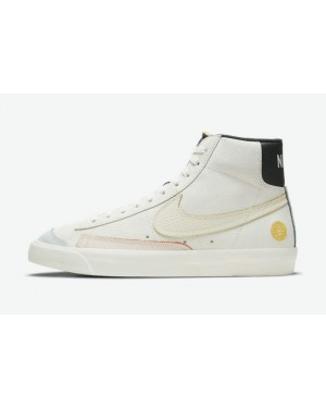 """Nike Blazer Mid """"Day of the Dead"""" Blanche/Noir DC5185-133"""