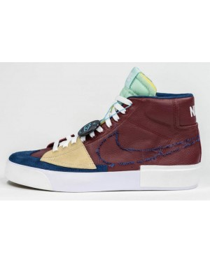 Nike SB Blazer Mid Edge Rouge/Light Dew-Blanche-Navy DA2189-600