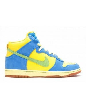 "Nike SB Dunk High ""Marge Simpson"" Zest/Vert 305050-731"