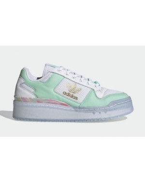 "Adidas Forum Bold ""I Love Dance"" Blanche/Vert-Or FY5117"