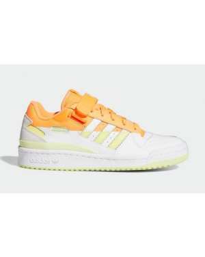 Adidas Forum Low Premium Orange/Jaune-Blanche FY8020