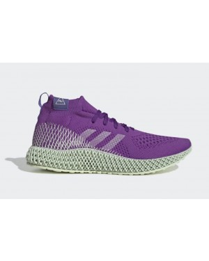Pharrell Williams x adidas 4D Violet/Blanche-Violet FV6335