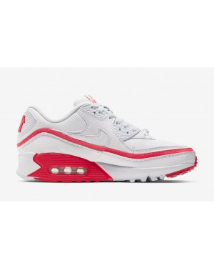 Undefeated x Nike Air Max 90 Blanche/Rouge CJ7197-103