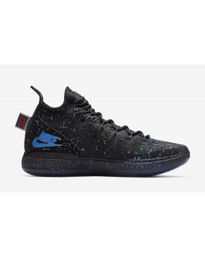 Nike KD 11 'Just Do It' Noir/Bright Crimson-Bleu AO2604-007