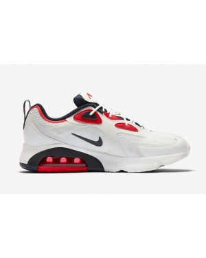 Nike Air Max 200 USA Blanche Navy Rouge CT1262-101