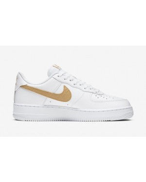 """Nike Air Force 1 Low """"Hairy Swoosh"""" - CW7567-101"""