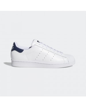 adidas Superstan Blanche Navy - FX3905
