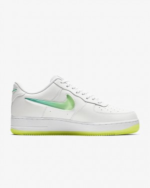 Nike Air Force 1 '07 PRM 2 (Blanche/Jaune) - AT4143-100