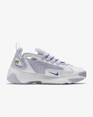 Nike Femme Zoom 2K Blanche/Sapphire-Violet - AO0354-103