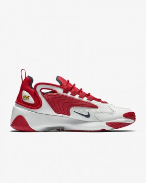 Nike Zoom 2K Blanche Rouge - AO0269-102