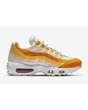 Nike Femme Air Max 95 Pale Ivory/Orange 307960-114