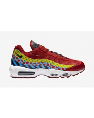 "Nike Air Max 95 ""Home"" (Rouge/Noir/Blanche) CD7787-600"