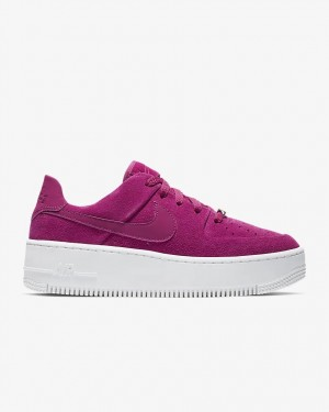 Nike Femme Air Force 1 Sage Low - True Berry - AR5339-600