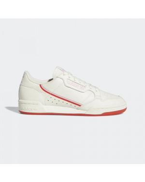 adidas Originals Continental 80 Blanche/Rouge/Rose EE3831