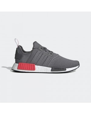 adidas BD7730 NMD R1 Homme Fonctionnement Chaussure Gris/Rouge