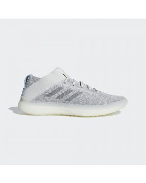 Adidas Homme Pure Boost Trainer Chaussures Blanche/Gris BB7212