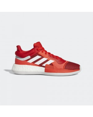 adidas Marquee Boost Low Rouge/Orange/Blanche F36305