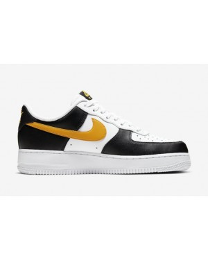 Nike Air Force 1 Low Taxi Noir Blanche Or CK0806-001