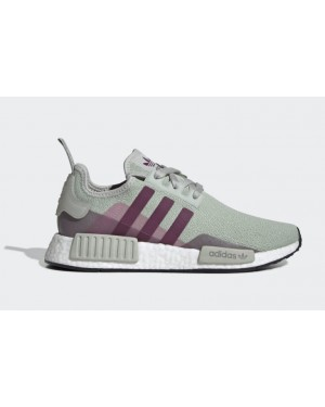 adidas NMD R1 Argent Purple Beauty Femme - EE5177
