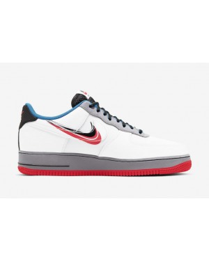 """Nike Air Force 1 Low """"Script Swoosh"""" Blanche CT1620-100"""
