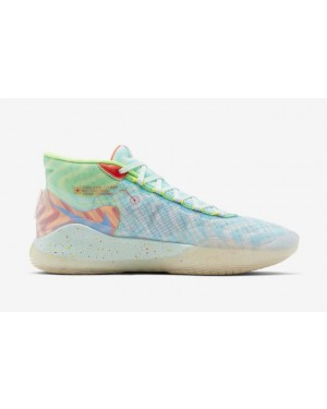 "KD 12 ""Wavvy"" Teal Tint/Bleu-Rouge - CW2774-300 - Nike"