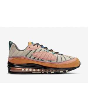 "Air Max 98 ""Corduroy Pack"" Orange - CQ7513-814 - Nike"
