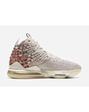 Harlem Fashion Row x LeBron 17 Desert Sand/Métallique Or-Cedar - CT3466-001 - Nike