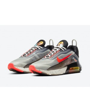 """Nike Air Max 2090 """"The Future is in the Air"""" Blanche/Infrared/Noir-Multi-Color DD8497-160"""