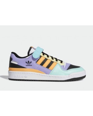 Adidas Forum Low Blanche/Orange-Noir GX2530