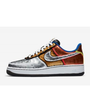 """Nike Air Force 1 Low """"Olympic"""" Blanche DA1345-014"""