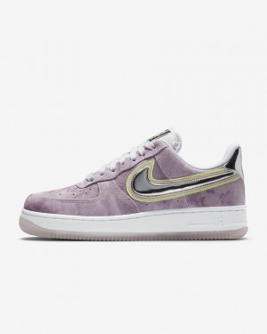 Nike Air Force 1 '07 CW6013-500 Violet/Washed Coral/Volt/Chrome