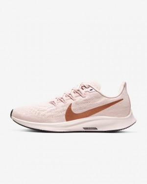 Nike Air Zoom Pegasus 36 CT1187-600 Rose/Métallique Rouge Bronze/Gris