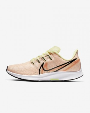 Nike Air Zoom Pegasus 36 Premium Rise AV6259-800 Crimson Tint/Vert/Orange/Noir