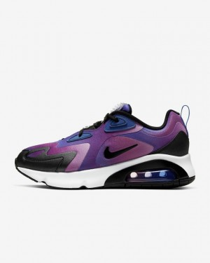 Nike Air Max 200 SE CK2596-400 Bleu/Violet/Magic Flamingo/Blanche
