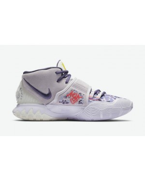 "Nike Kyrie 6 ""Asia Irving"" CD5031-500 Barely Grape/Violet-Sail"