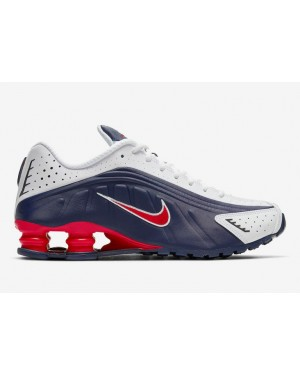 "Nike Shox R4 ""USA"" 104265-406 Midnight Navy/Rouge-Blanche"