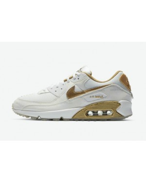 "Nike Air Max 90 ""Worldwide"" DA1342-170 Blanche/Or"