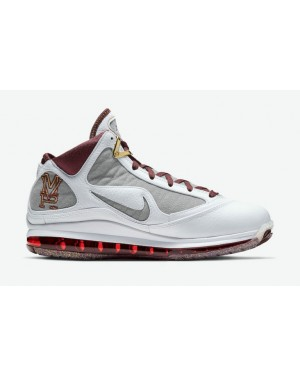 "Nike LeBron 7 ""MVP"" CZ8915-100 Blanche/Rouge-Gris-Bronze"